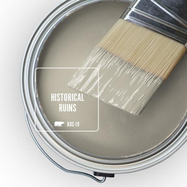 Reviews For Behr Marquee 1 Gal Bxc 19 Historical Ruins Satin Enamel Exterior Paint Primer 945401 The Home Depot