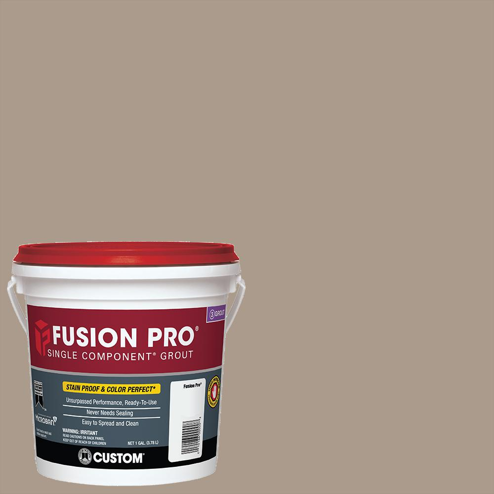 custom building products fusion pro 183 chateau 1 gal single component grout fp1831 2t the. Black Bedroom Furniture Sets. Home Design Ideas