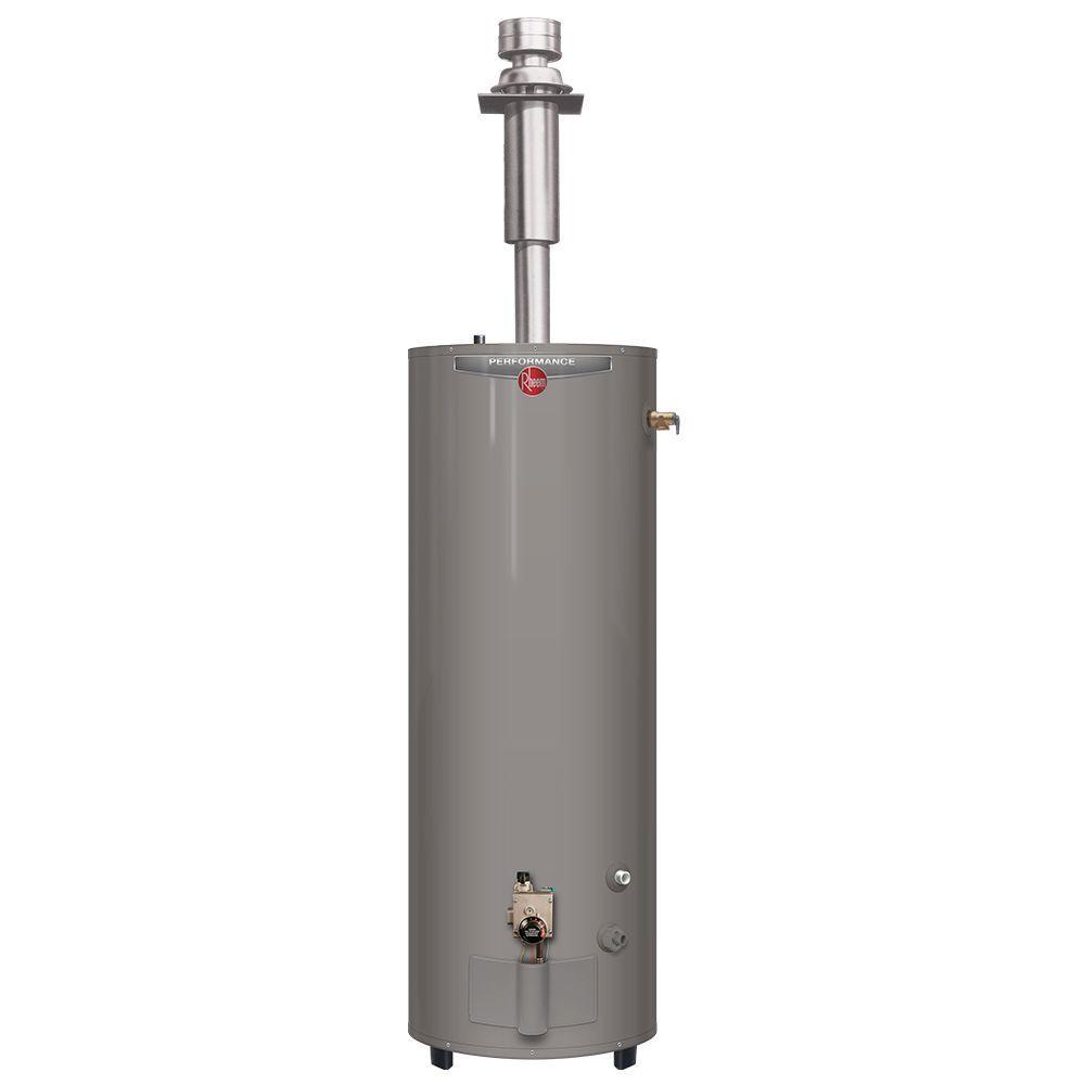 Performance Manufactured Housing 40 Gal. Tall 6 Year 30,000 BTU Convertible Natural Gas/LP Direct Vent Tank Water Heater