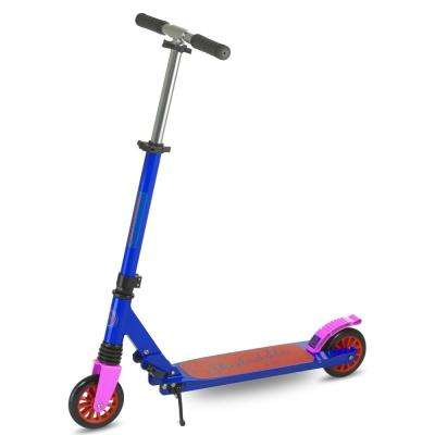 Skedaddle S-30 Premium Folding Kids Kick Scooter in Blue