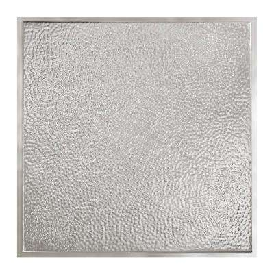 Chicago 2 ft. x 2 ft. Lay-in Tin Ceiling Tile in Clear