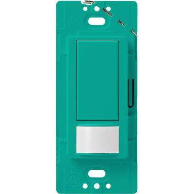 Maestro Motion Sensor Switch, 2-Amp, Single-Pole,  Turquoise