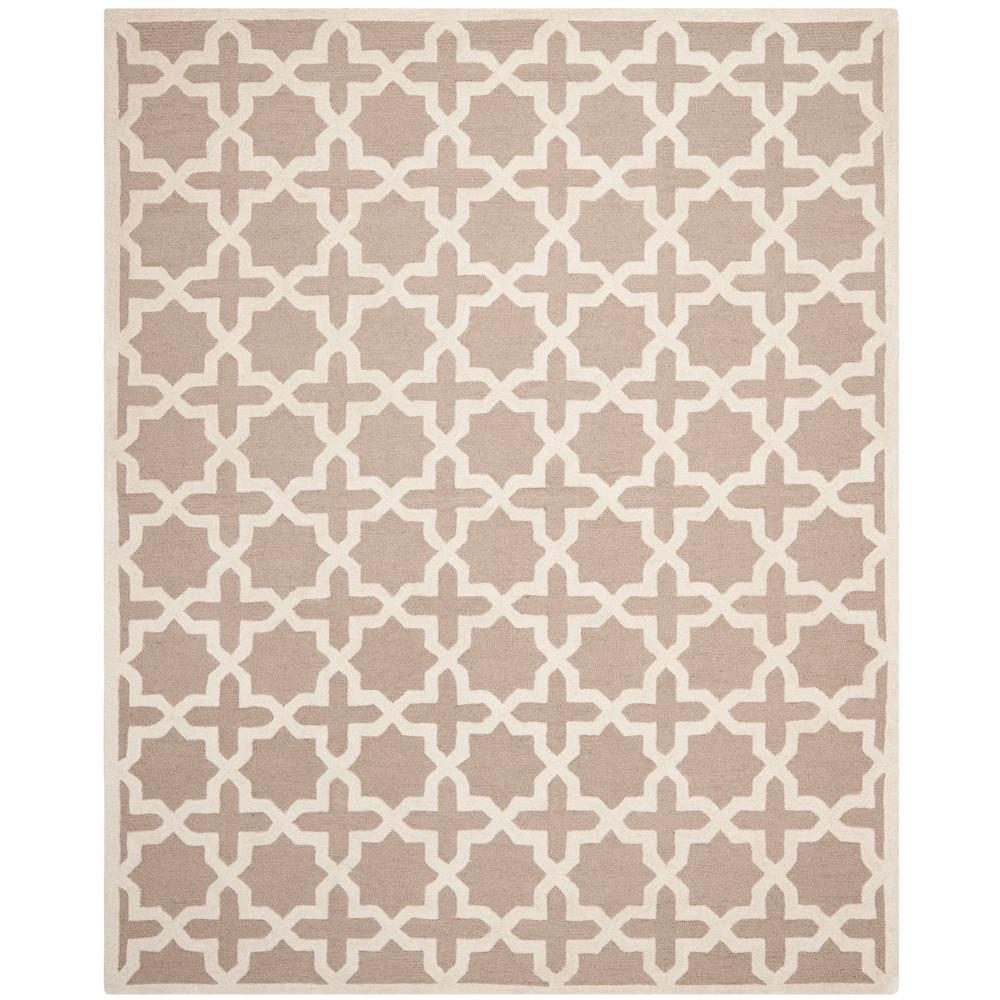 Cambridge Beige Ivory 10 Ft X 14 Area Rug