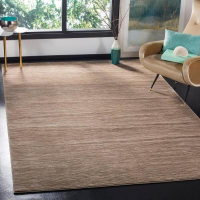Vision Light Brown 7 ft. x 7 ft. Square Area Rug