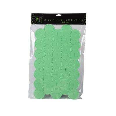 7 oz. Aeroponic Green Cloning Collars (35-Pack)