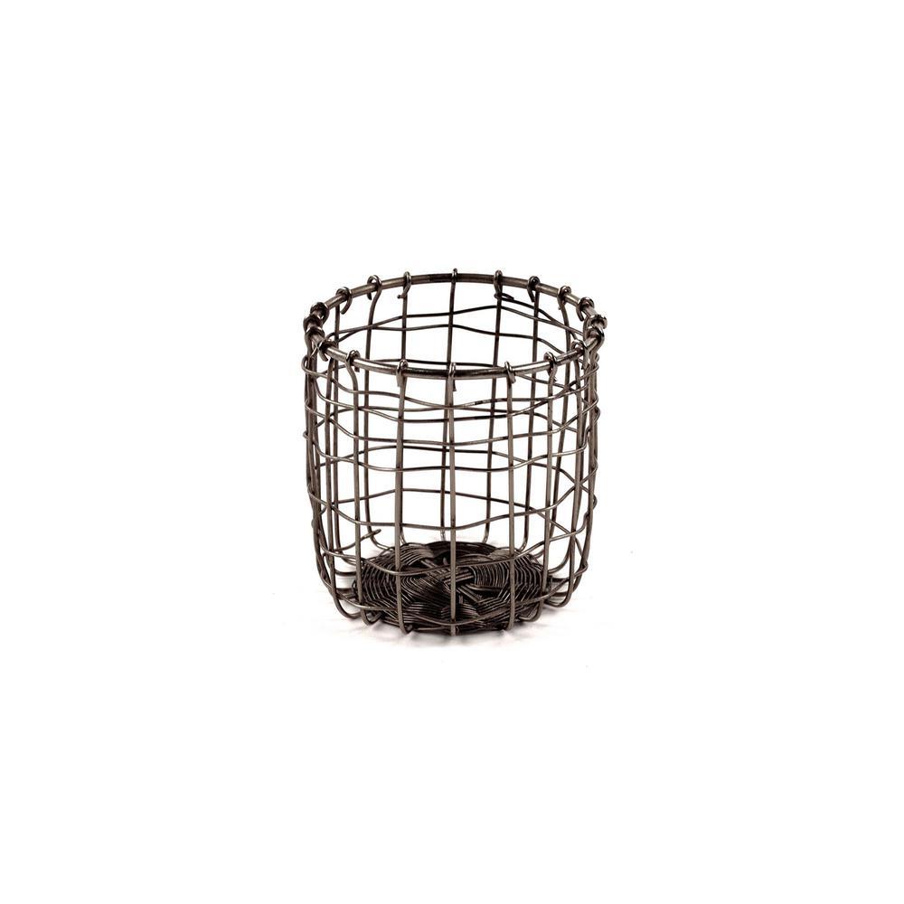 Design Ideas Cabo Metal Pencil Cup, Natural 8758601