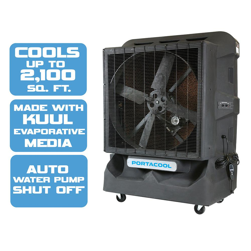 portacool cyclone 160 8000 cfm 1 speed portable evaporative cooler port a cool electrical wiring portacool cyclone 160 8000 cfm 1 speed portable evaporative cooler for 2100 sq ft