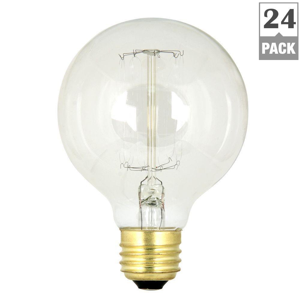 Ge reveal 60 watt incandescent a19 reveal light bulb 6 pack 60a 60 watt soft white 2200k g25 dimmable incandescent original vintage style arubaitofo Images