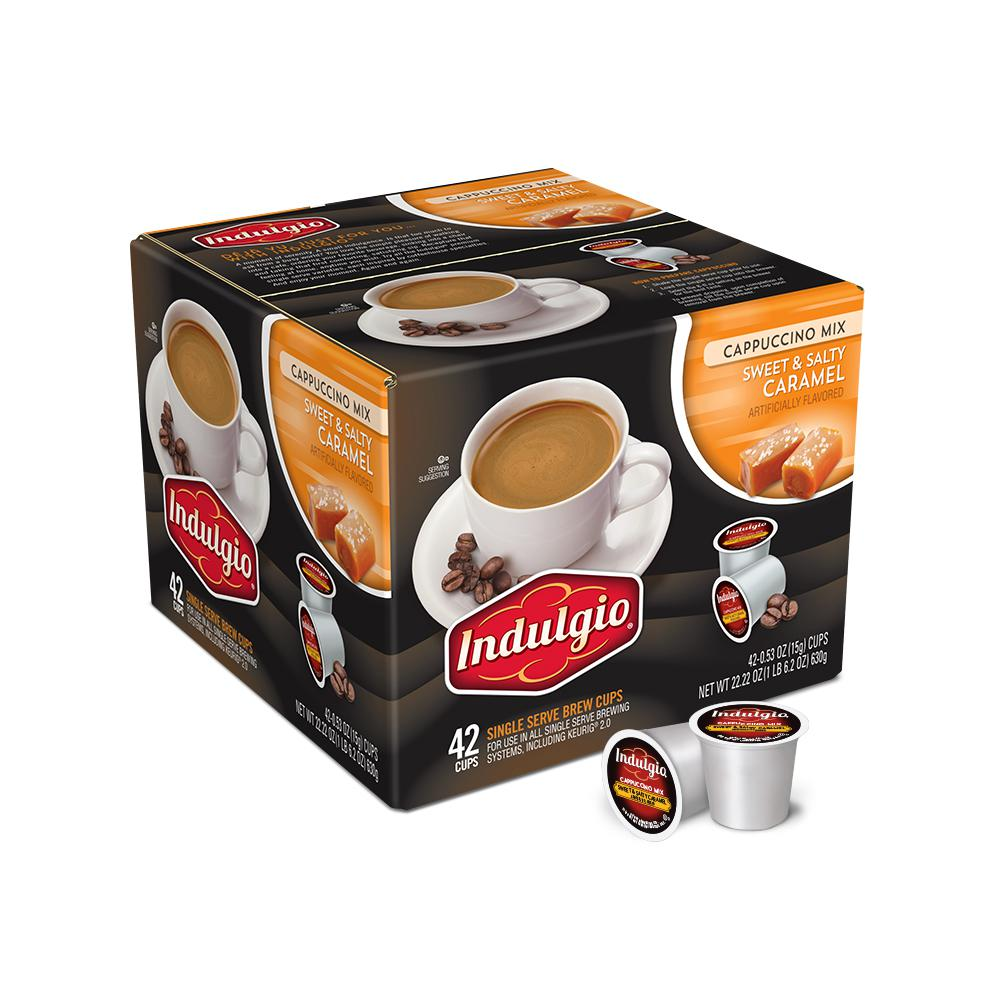 Sweet and Salty Cappuccino (42 Single Serve Cups per Case)
