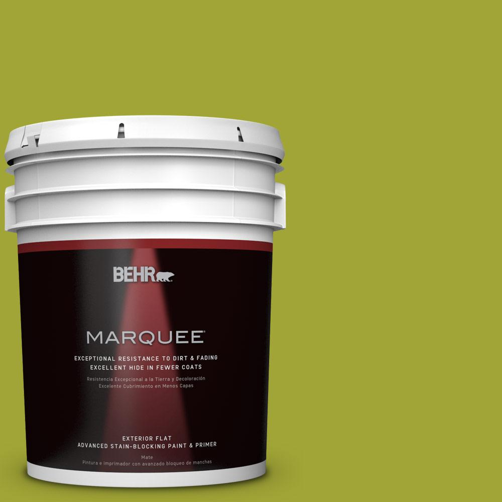 5-gal. #S-H-400 Rolling Hills Flat Exterior Paint