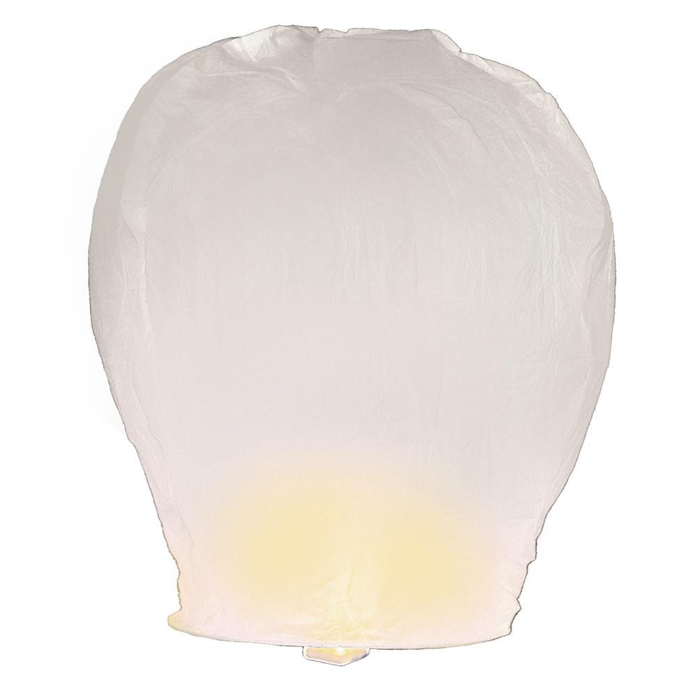 Lumabase Sky Lanterns 4 ct. White