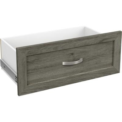 Style+ 10 in. x 25 in. Coastal Teak Shaker Drawer Kit for 25 in. W Style+ Tower