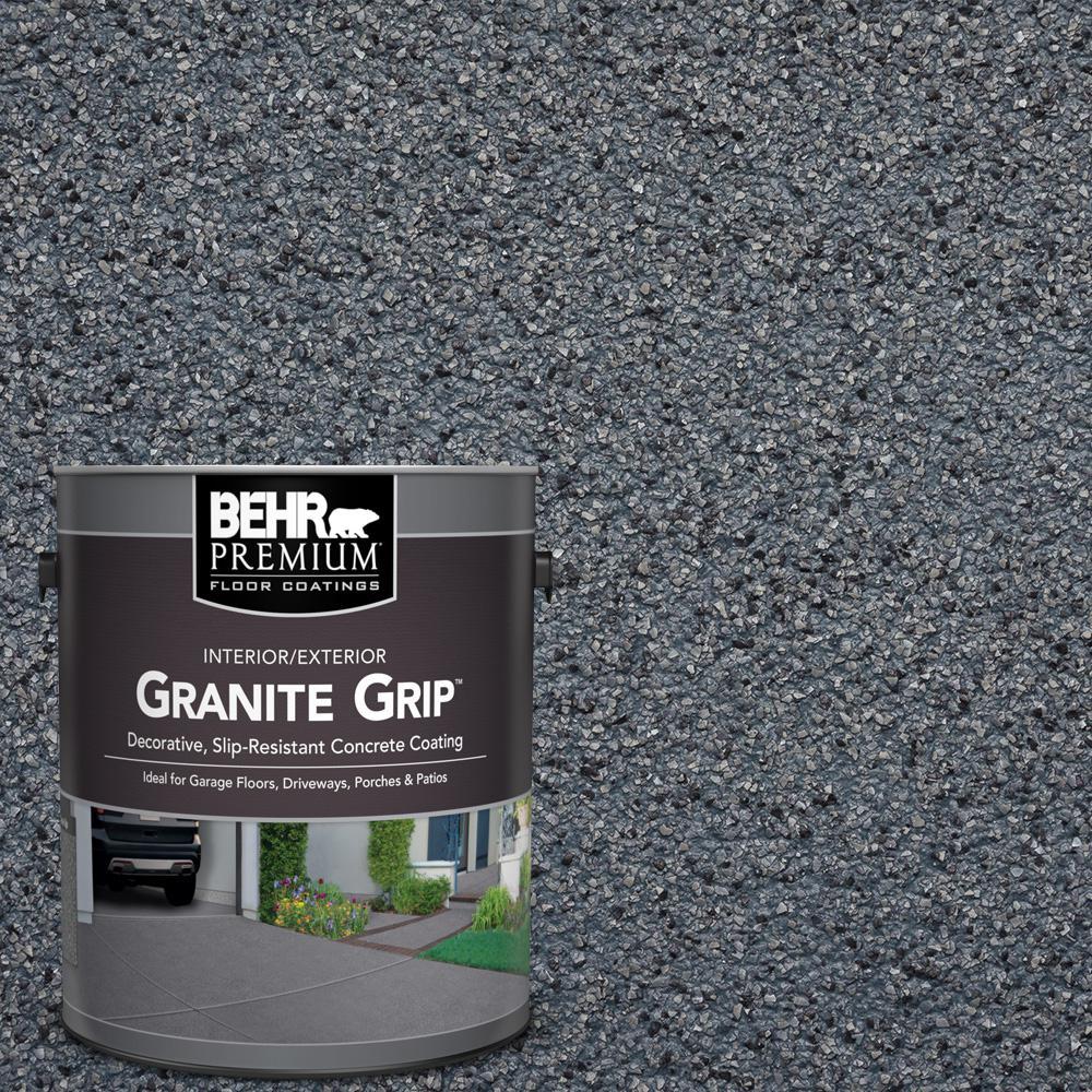 1 Gal. #GG-05 Azul Diamond Decorative Flat Interior/Exterior Concrete Floor Coating