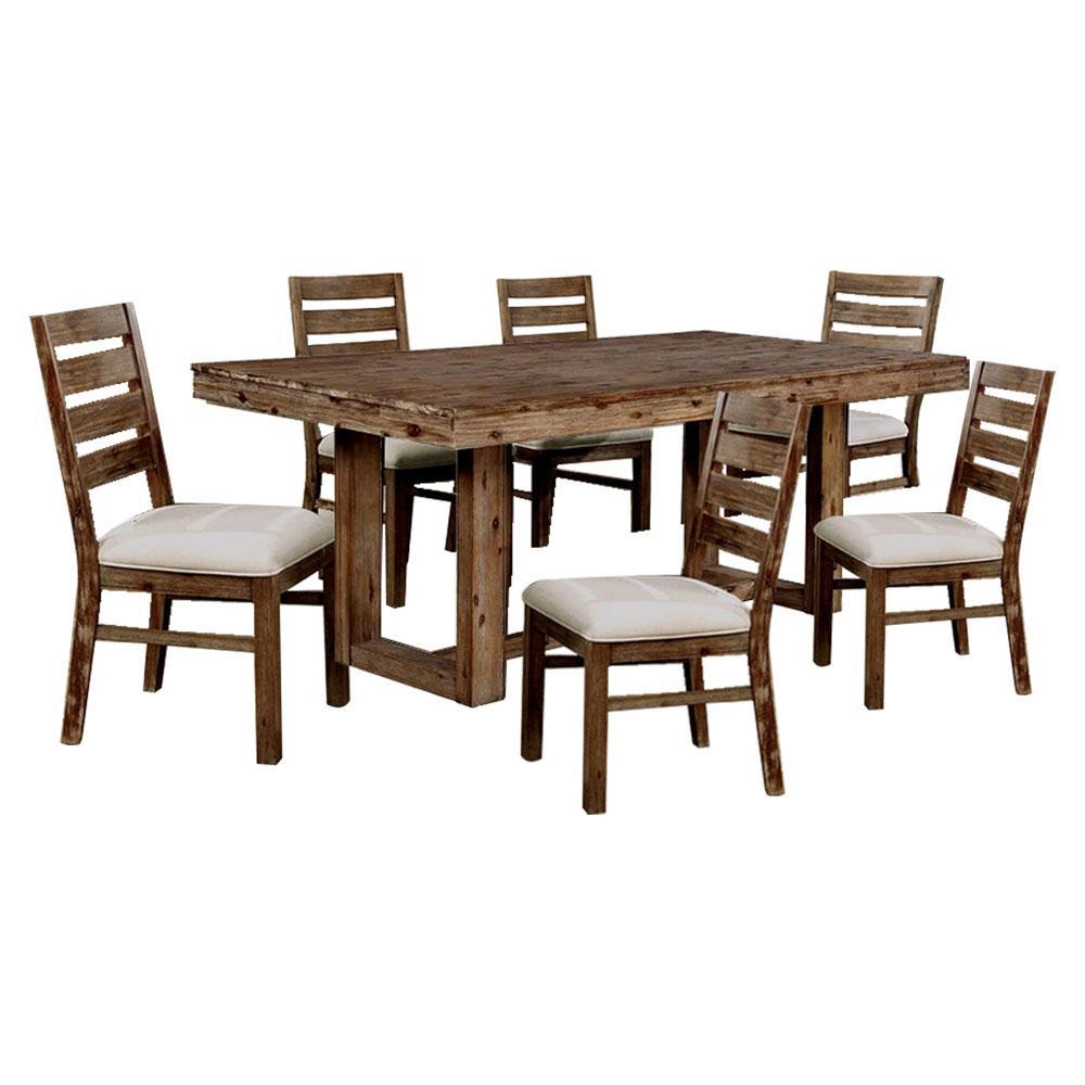 Williams Home Furnishing Lidgerwood Natural Tone Table Set