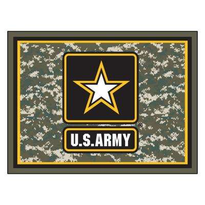 U.S. Army Ultra Plush 8 ft. x 10 ft. Area Rug
