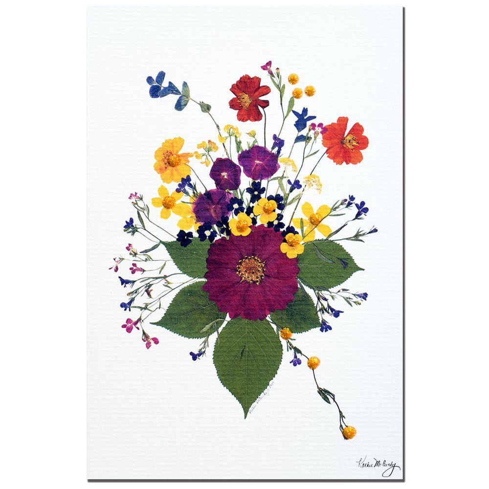 30 in. x 47 in. Enchanted Garden Canvas Art