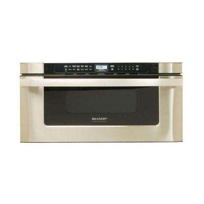 30 in. W 1.2 cu. ft. Built-In Microwave Drawer in Stainless Steel with Sensor Cooking