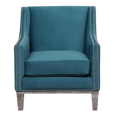Aster Teal Accent Chair