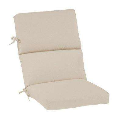 Vellum Sunbrella High Back Outdoor Recliner Cushion