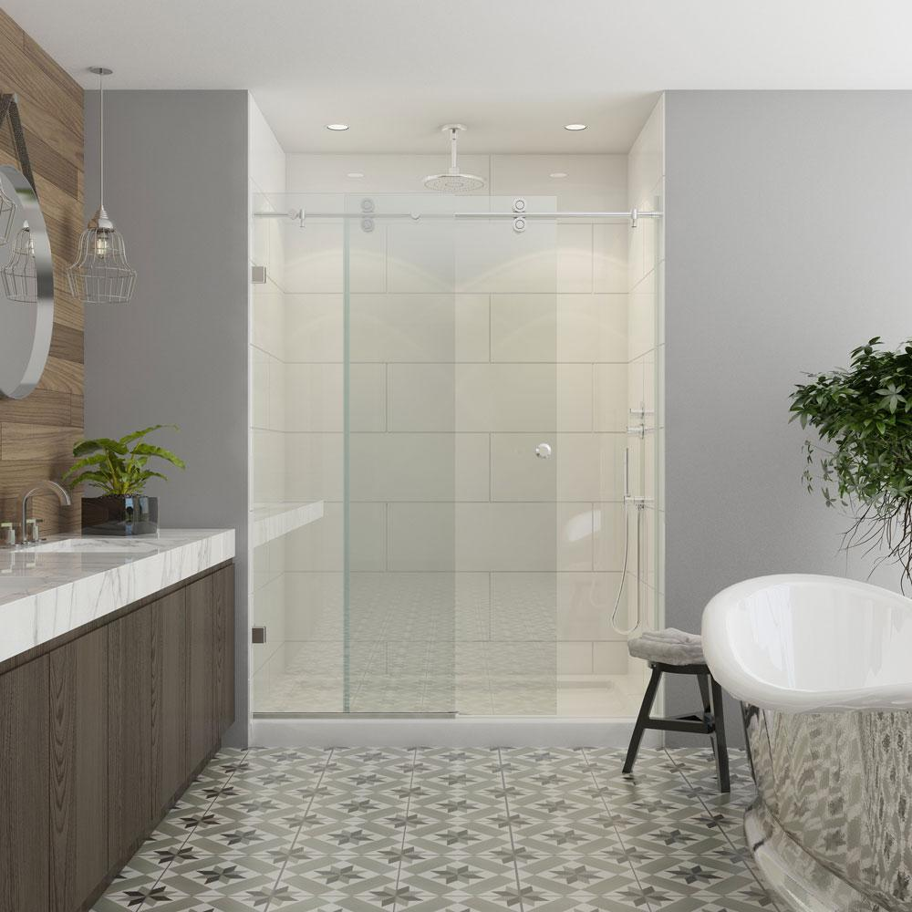 Bathroom Tile Contractor: Contractors Wardrobe Model 7800 60 In. X 76 In. Frameless