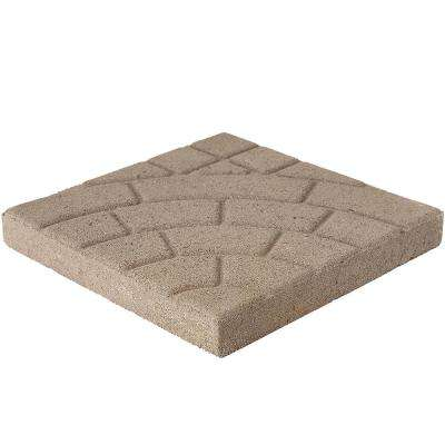 Bella Cobble 16 in. x 16 in. x 1.75 in. Beige Concrete Step Stone (84-Piece/149 sq. ft./Pallet)