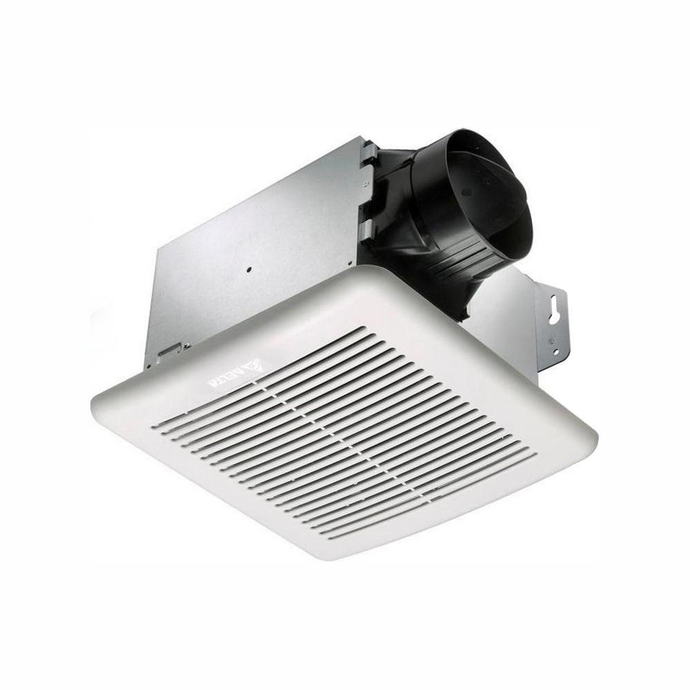 GreenBuilder Series 80 CFM Wall or Ceiling Bathroom Exhaust Fan, ENERGY STAR
