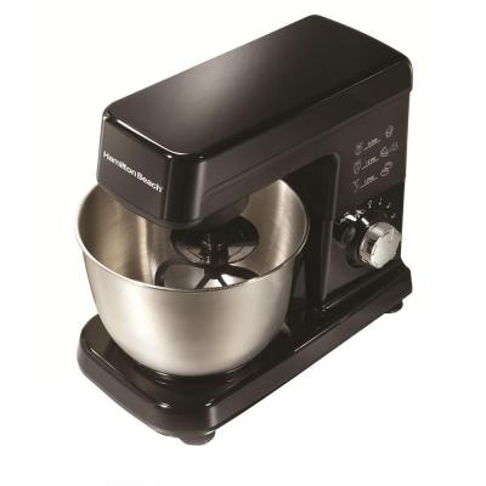 3.5-Quart Black 6-Speed Stand Mixer