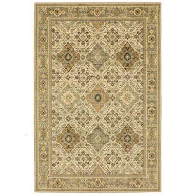 Yorkshire Cream 10 ft. x 13 ft. Area Rug
