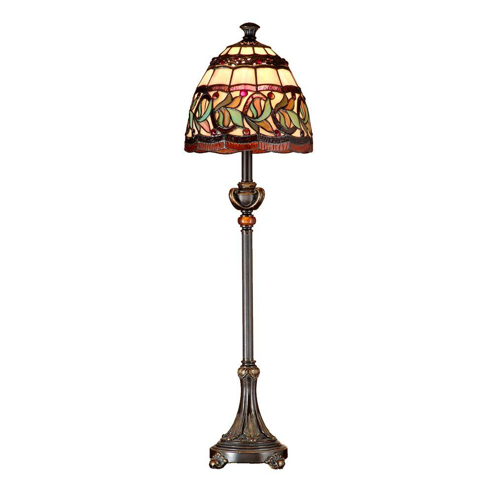 30 in. Aldridge Antique Bronze Buffet Lamp