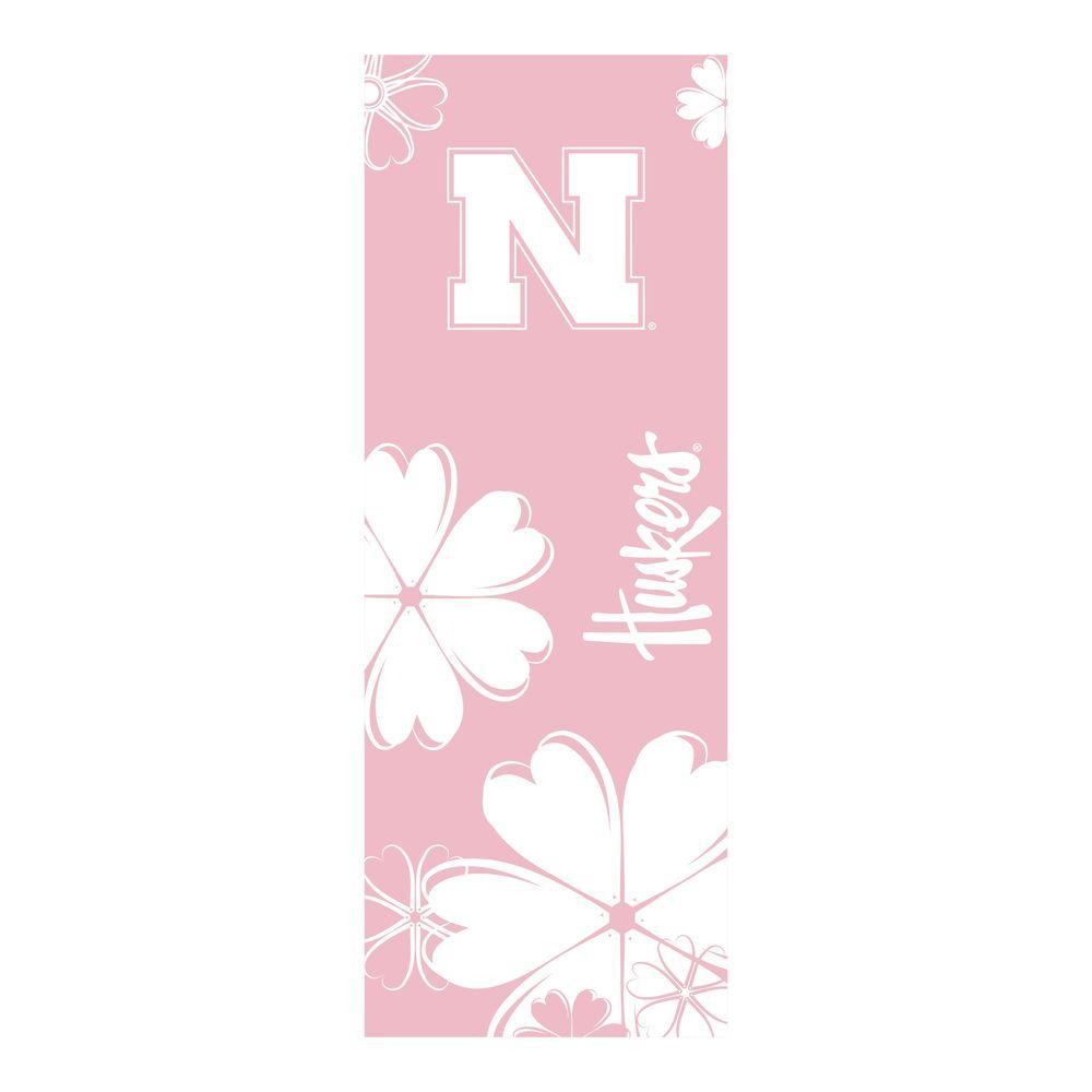 FANMATS University of Nebraska 24 in. x 67.5 in. Yoga Mat-DISCONTINUED