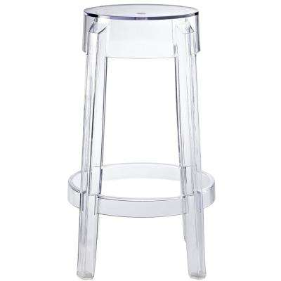 Clear Casper Counter Stool