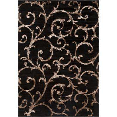 Neptune Black 2 ft. x 3 ft. 3 in. Indoor Area Rug