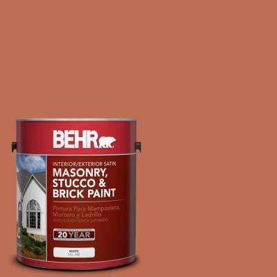 1 gal. #M190-6 Before Winter Satin Interior/Exterior Masonry, Stucco and Brick Paint