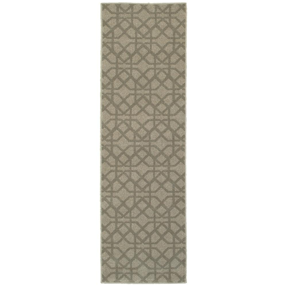 Girard Taupe 2 ft x 8 ft