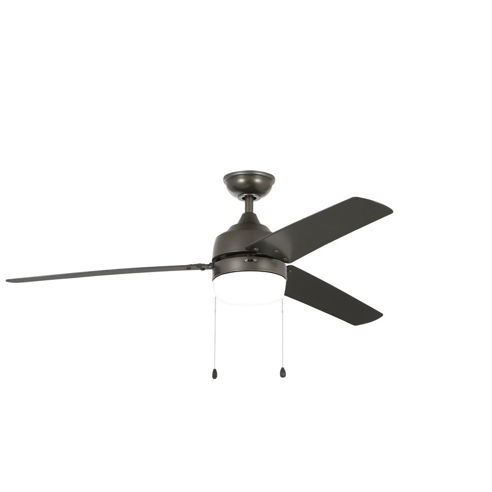 Home Decorators Collection Carrington 60 In Led Indoor Outdoor Natural Iron Ceiling Fan With Light Kit Yg419 Ni The Home Depot