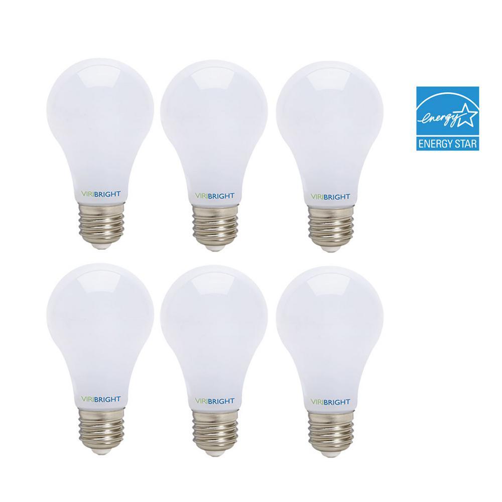 a19 6pack led bulbs 60w equiv