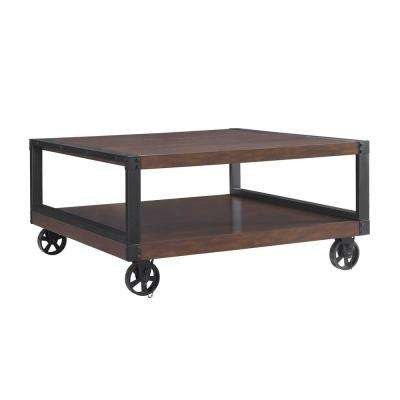 Fenwick Mahogany Mobile Coffee Table