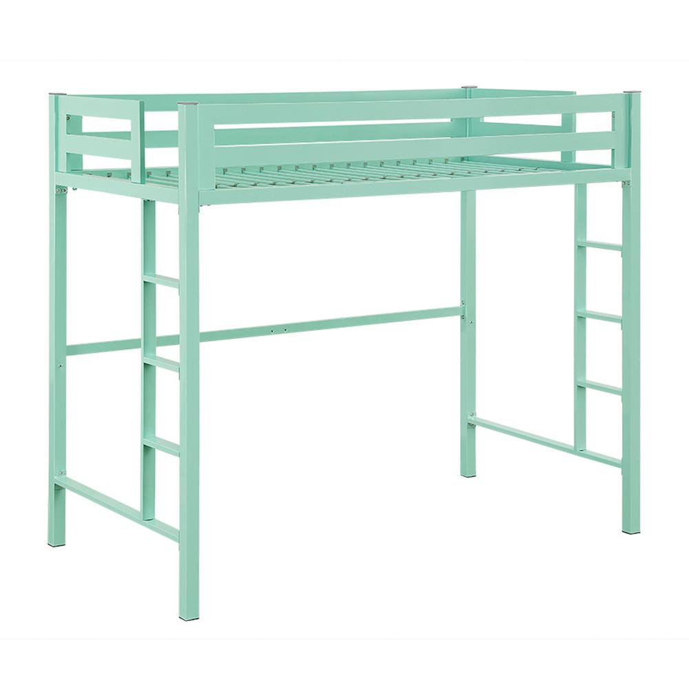 Walker Edison Furniture Company Bentley Twin Metal Loft Bed
