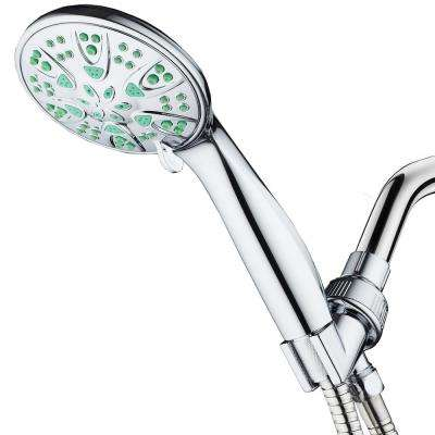 6-Spray Setting Hand Shower with Microban in Chrome
