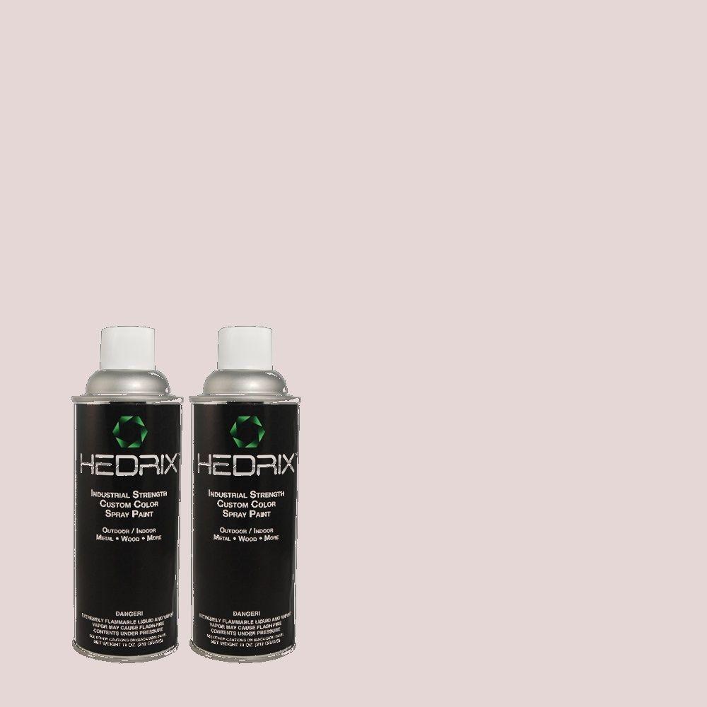 Hedrix 11 oz. Match of PPU16-7 Mystic Fairy Semi-Gloss Custom Spray Paint (2-Pack)