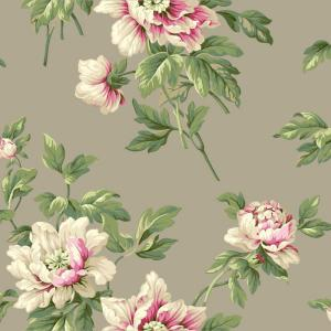 York Wallcoverings Casabella II Document Floral Wallpaper by York Wallcoverings