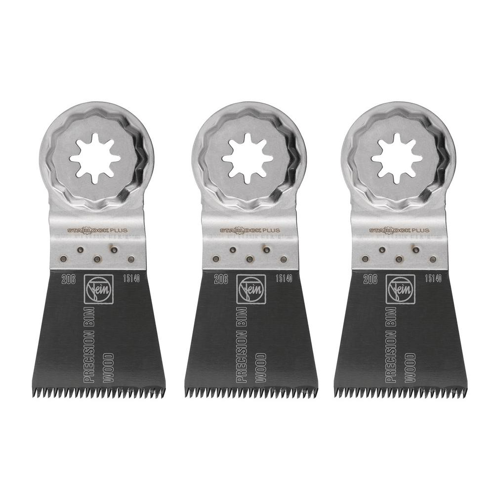 1-3/4 in. E-Cut Precision BIM Saw Blade Starlock Plus (3-Pack)