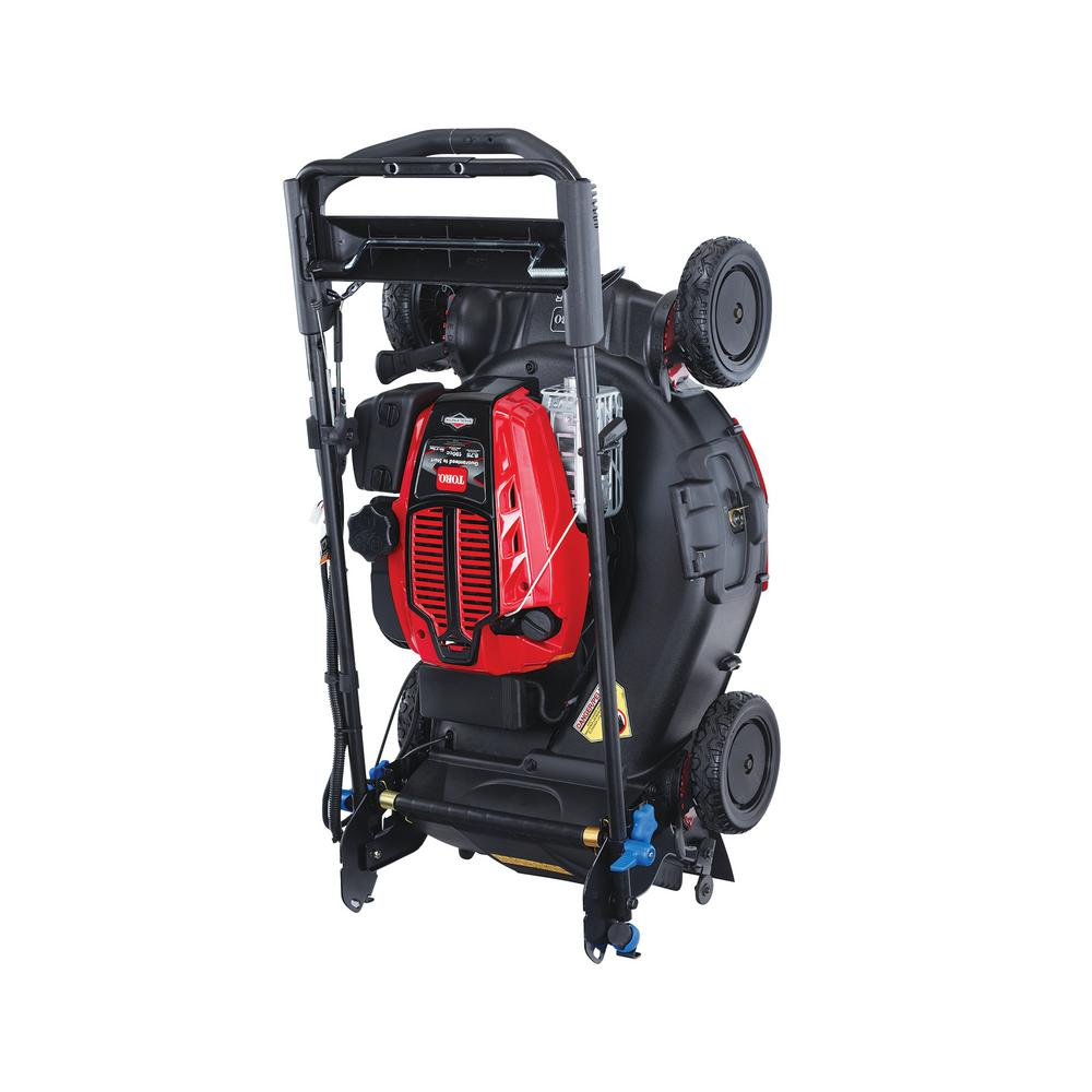 Toro 21 inch Super Recycler Personal Pace SmartStow 190cc Briggs Engine with Electric Start with FLEX Handle