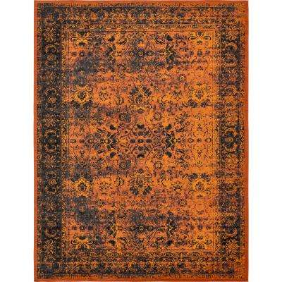 Istanbul Terracotta 10 0 X 13 Area Rug And Black Red Cream