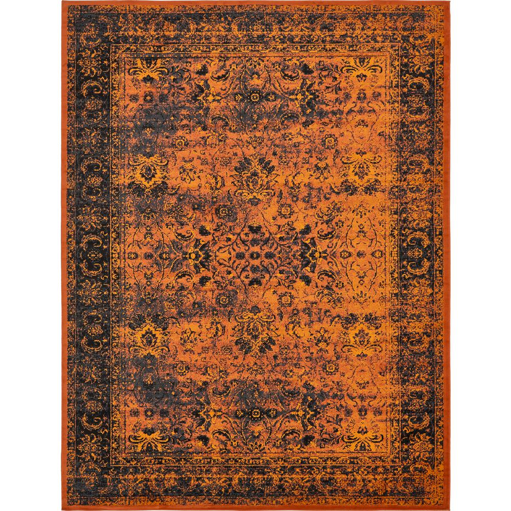 Linoleum Rug Turquoise Terracotta Area Rug Or Kitchen Mat: Unique Loom Istanbul Terracotta 10 Ft. X 13 Ft. Area Rug