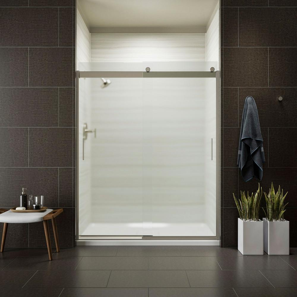 Frosted - Shower Doors - Showers - The Home Depot