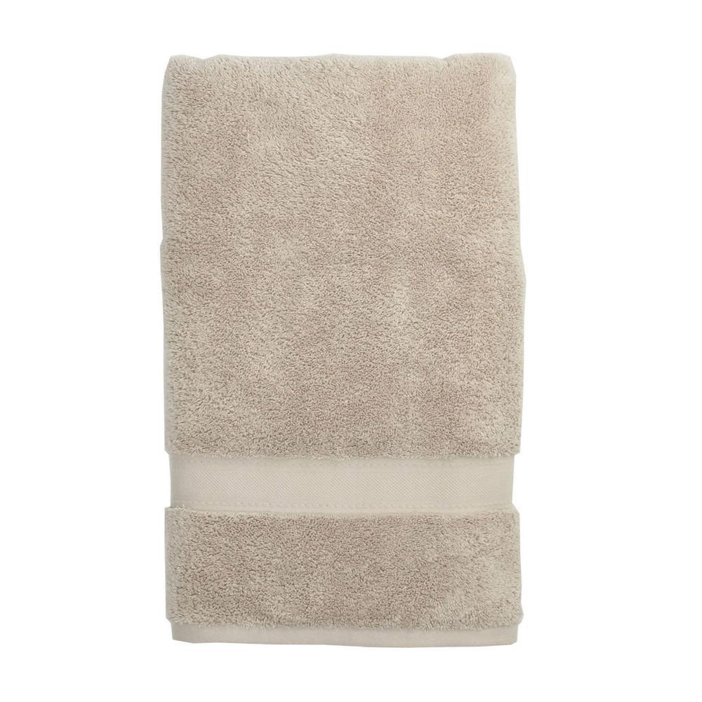 The Company Store Cotton Cashmere Single Bath Towel in Sand VK28-BATH-SAND