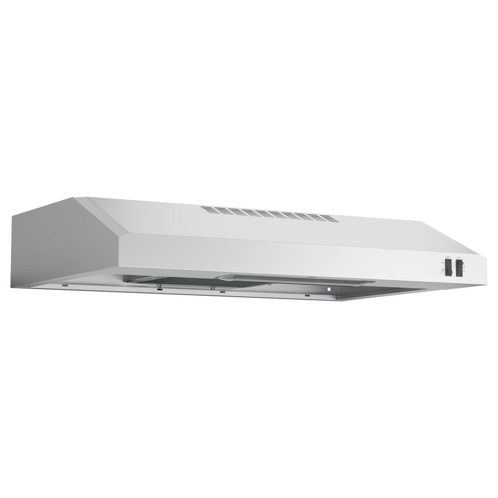 ge 30 in over the range convertible range hood in stainless steel jvx3300sjss the home depot. Black Bedroom Furniture Sets. Home Design Ideas