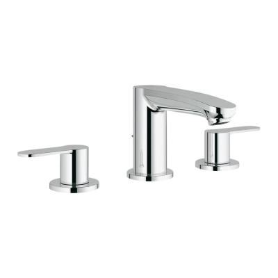 Eurostyle Cosmopolitan 8 in. Widespread 2-Handle 1.2 GPM Bathroom Faucet in StarLight Chrome