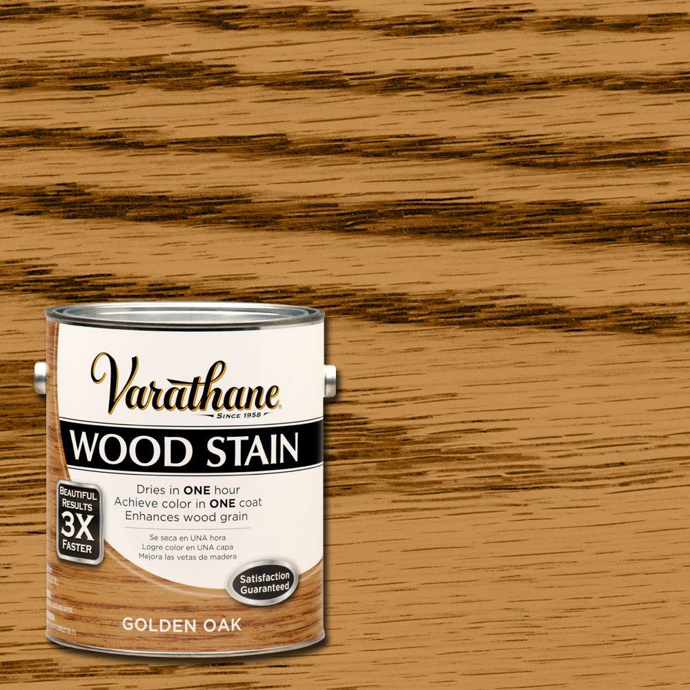 1 gal. Golden Oak Premium Fast Dry Interior Wood Stain (2-Pack)